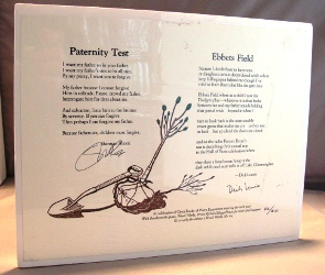 Paternity Test: Broadside Poem. Sherman Alexie.
