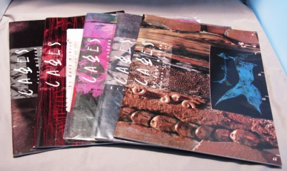 Cages: Numbers 1-5 (of 10). Graphic Novel, Dave McKean.