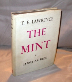 The Mint. Lawrence of Arabia, T. E. Lawrence.
