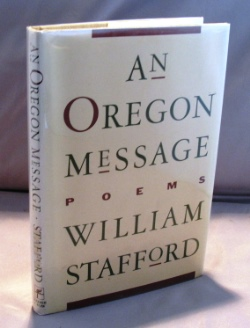 An Oregon Message: Poems. Poetry, William Stafford.