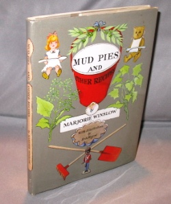 Mud Pies and Other Recipes. With Illustrations by Erik Blegvad. Children's Cookbook, Marjorie Winslow.