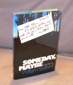 Someday, Maybe: Poems. William Stafford.