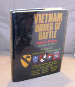 Vietnam Order of Battle. Vietnam War Literature, Stanton. Shelby.