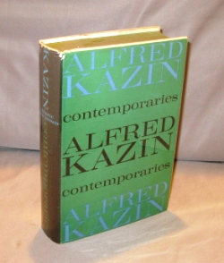 Contemporaries: Essays. Literary Essays, Alfred Kazin.