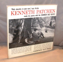 Kenneth Patchen with The Chamber Jazz Sextet. CLP 3004. Vinyl Recording, Kenneth Patchen.