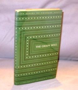 The Green Wall: Poems. James Wright.