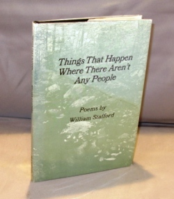 Things That Happen Where There Aren't Any People: Poems. Poetry, William Stafford.