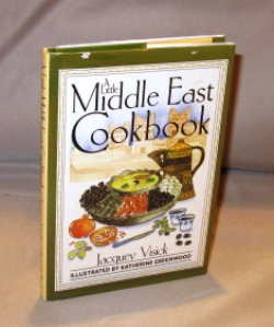 A Little Middle East Cookbook. Illustrated by Katherine Greenwood. Cookbook, Jacquey Visick.