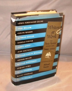 Writers At Work:The Paris Review Interviews. Third Series. Introduction by Alfred Kazin. Author Interviews.