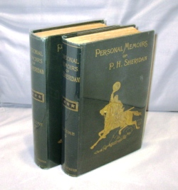 Personal Memoirs of P. H. Sheridan. Civil War Memoir, Philip H. Sheridan.