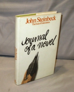 Journal of a Novel. The East of Eden Letters. John Steinbeck.