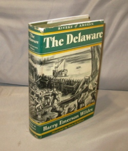 The Delaware. Illustrated by Irwin D. Hoffman. Rivers of America Series, Harry Emerson Wildes.