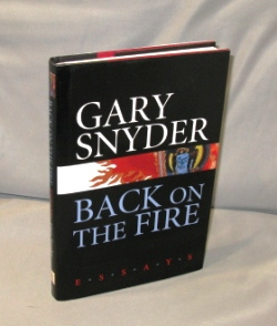 Back on the Fire: Essays. Essays, Gary Snyder.