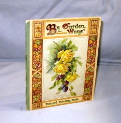 By Garden Ways. A Postcard Painting Book. Postcard Painting Book.