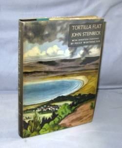 Tortilla Flat. Illustrated with Seventeen Paintings By Peggy Worthington. John Steinbeck.