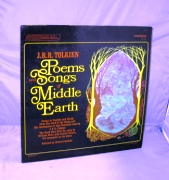 Poems and Songs of Middle Earth. Spoken Word Vinyl, J. R. R. Tolkien.