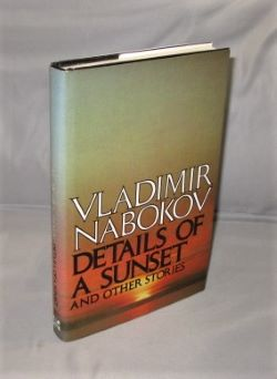 Details of a Sunset and Other Stories. Russian Literature, Vladimir Nabokov.