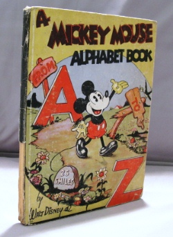 A Mickey Mouse Alphabet Book A to Z. Children's Book, Walt Disney