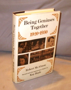 Being Geniuses Together 1920-1930. Revised and with supplementary chapters by Kay Boyle. Paris...