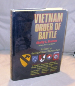 Vietnam Order of Battle. A Complete Illustrated Reference to U.S. Army Combat and Support Forces...