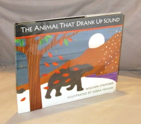The Animal That Drank Up Sound. Illustrated by Debra Frasier. Children's Book, William Stafford