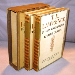 T.E. Lawrence to his Biographers Robert Graves & Liddell Hart. Two Volumes. T. E. Lawrence