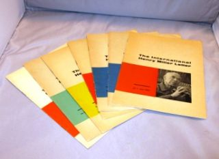 The International Henry Miller Letter. 6 of 7 Issues in the complete run from June 1961 to April...