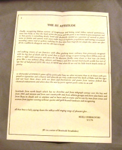 The Be Attitude: A Beatitude Press Broadside #1. Neeli Cherkovski