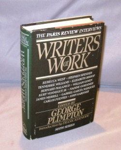 Writers at Work: The Paris Review Interviews. Sixth Series. Edied by George Plimpton