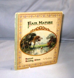 Fair Nature. A Postcard Painting Book. Postcard Painting Book