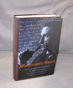 Affectionately, Marcel. Marcel Duchamp: The Selected Correspondence. Art Letters, Marcel Duchamp