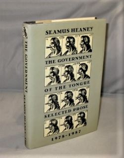 The Government of the Tongue: Selected Prose 1978-1987. Literary Essays, Seamus Heaney